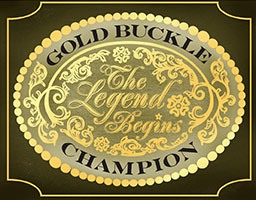 Gold Buckle Champion logo